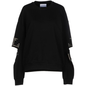 《セール開催中》GALLE Paris レディース スウェットシャツ ブラック 0 コットン 100%