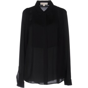 《期間限定セール開催中!》MICHAEL MICHAEL KORS レディース シャツ ブラック XS シルク 100%