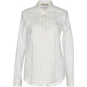 《期間限定 セール開催中》PATRIZIA PEPE レディース シャツ ホワイト 40 82% コットン 18% ナイロン