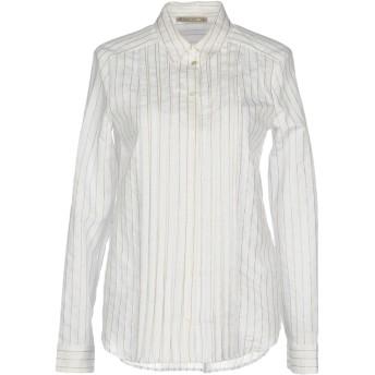 《セール開催中》PATRIZIA PEPE レディース シャツ ホワイト 42 82% コットン 18% ナイロン
