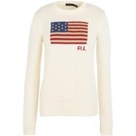 POLO RALPH LAUREN レディース プルオーバー Flag Cotton Sweater