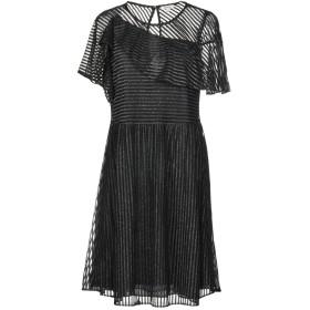 《期間限定セール中》MANOUSH レディース ミニワンピース&ドレス ブラック 34 100% ポリエステル