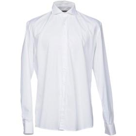 《期間限定 セール開催中》GREY DANIELE ALESSANDRINI メンズ シャツ ホワイト 38 コットン 100%