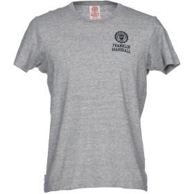 《セール開催中》FRANKLIN & MARSHALL メンズ T シャツ グレー M コットン 100%