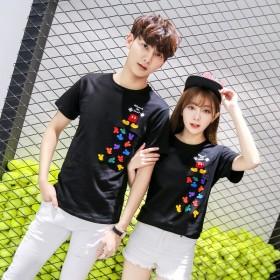 刺繍Tシャツ 綿100%