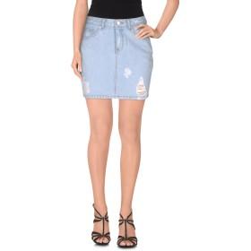 《期間限定 セール開催中》SJYP レディース デニムスカート ブルー S コットン 100%