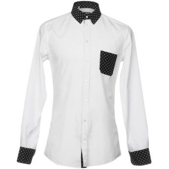 《セール開催中》DOLCE & GABBANA メンズ シャツ ホワイト 37 82% コットン 18% シルク
