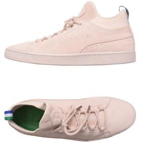 《期間限定 セール開催中》PUMA メンズ スニーカー&テニスシューズ(ハイカット) ピンク 7.5 革 / 紡績繊維 Suede Mid BIG SEAN