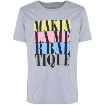 《期間限定セール開催中!》MAKIA メンズ T シャツ ライトグレー S コットン 100% DO OR DIE T-SHIRT