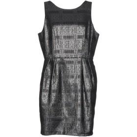 《期間限定セール開催中!》DARLING London レディース ミニワンピース&ドレス ブラック 10 ポリエステル 85% / 指定外繊維 10% / コットン 5%