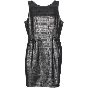 《セール開催中》DARLING London レディース ミニワンピース&ドレス ブラック 8 ポリエステル 85% / 指定外繊維 10% / コットン 5%