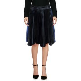 《期間限定 セール開催中》CEDRIC CHARLIER レディース ひざ丈スカート ディープジェード 40 アセテート 65% / レーヨン 35% / ポリエステル / シルク