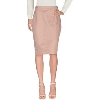 《セール開催中》AQUILANO-RIMONDI レディース ひざ丈スカート ローズピンク 46 60% コットン 40% シルク