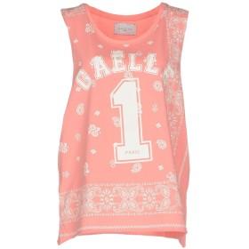 《期間限定セール開催中!》GALLE Paris レディース T シャツ ピンク 1 100% コットン