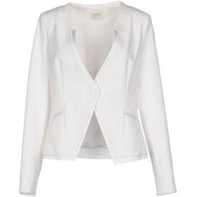 《期間限定セール中》RELISH レディース テーラードジャケット ホワイト 44 ポリエステル 88% / ポリウレタン 12%