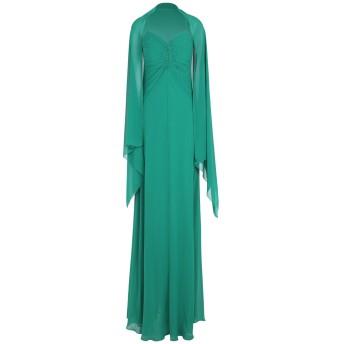 《セール開催中》MUSANI COUTURE レディース ロングワンピース&ドレス グリーン 42 ポリエステル 100%