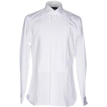《セール開催中》POLO RALPH LAUREN メンズ シャツ ホワイト 38 コットン 100%