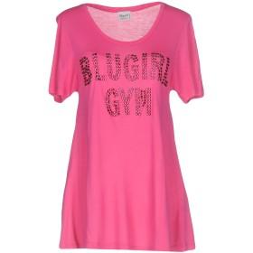 《セール開催中》BLUGIRL BLUMARINE レディース アンダーTシャツ フューシャ 42 100% レーヨン