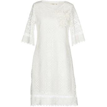 《セール開催中》DARLING London レディース ミニワンピース&ドレス ホワイト 8 ポリエステル 100%