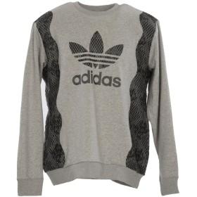 《期間限定 セール開催中》ADIDAS ORIGINALS メンズ スウェットシャツ グレー XL コットン / ポリエステル