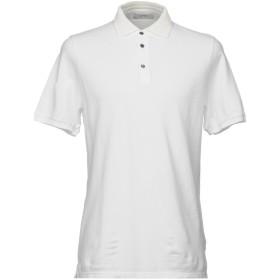 《期間限定セール開催中!》ALPHA STUDIO メンズ ポロシャツ アイボリー 46 コットン 100%