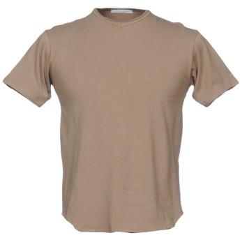 《セール開催中》DANIELE ALESSANDRINI メンズ T シャツ カーキ XXL コットン 94% / ポリウレタン 6%