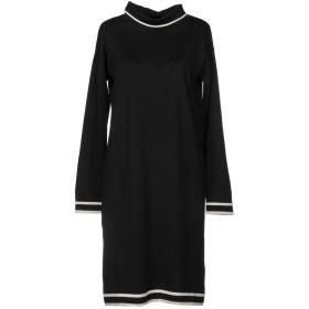 《期間限定セール開催中!》ALPHA STUDIO レディース ミニワンピース&ドレス ブラック 40 ウール 100%