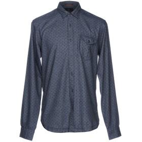 《9/20まで! 限定セール開催中》SCOTCH & SODA メンズ シャツ ブルー 50 100% コットン