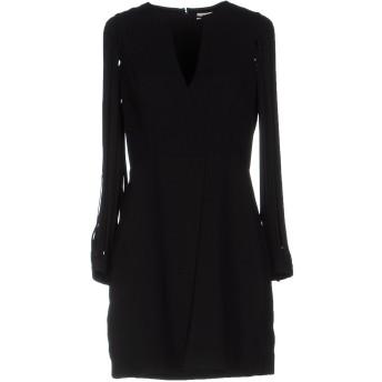 《セール開催中》HALSTON レディース ミニワンピース&ドレス ブラック 0 ポリエステル 98% / ポリウレタン 2%
