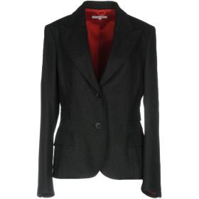 《期間限定セール中》GERMANO ZAMA レディース テーラードジャケット スチールグレー XL ウール 60% / ポリエステル 35% / 指定外繊維 5%