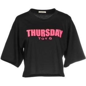 《セール開催中》TOY G. レディース T シャツ ブラック XS コットン 100%