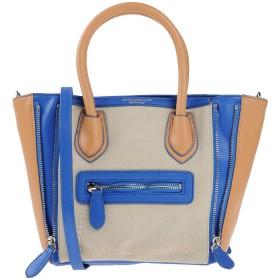 《セール開催中》TOSCA BLU レディース ハンドバッグ ブルー ポリウレタン 50% / コットン 50%