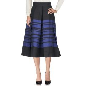 《期間限定セール開催中!》MARTIN GRANT レディース 7分丈スカート ブルー 40 コットン 85% / ポリエステル 15%