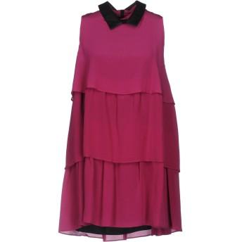 《セール開催中》JUST CAVALLI レディース ミニワンピース&ドレス ガーネット 44 シルク 100%