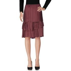 《セール開催中》ERIKA CAVALLINI レディース ひざ丈スカート ディープパープル 40 レーヨン 100%