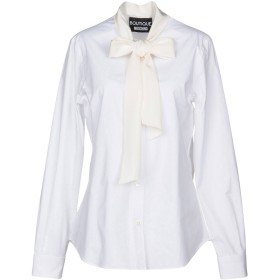 《期間限定 セール開催中》BOUTIQUE MOSCHINO レディース シャツ ホワイト 40 97% コットン 3% 指定外繊維