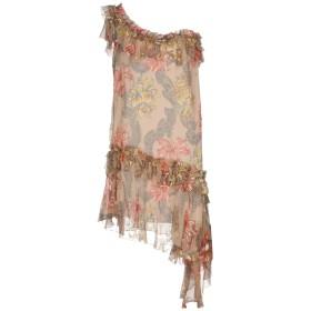 《セール開催中》PHILOSOPHY di LORENZO SERAFINI レディース ミニワンピース&ドレス ピンク 40 シルク 100%