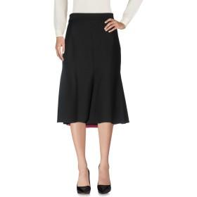 《送料無料》VDP CLUB レディース 7分丈スカート ブラック 42 レーヨン 65% / ナイロン 30% / ポリウレタン 5%