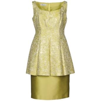 《セール開催中》TERESA RIPOLL レディース ミニワンピース&ドレス ビタミングリーン 44 ポリエステル 60% / シルク 40%