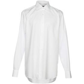 《セール開催中》PAUL CLEMENTI メンズ シャツ ホワイト 43 コットン 100%
