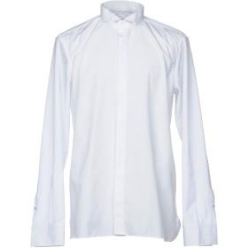 《期間限定 セール開催中》DI LUCA メンズ シャツ ホワイト 43 コットン 100%