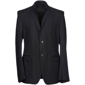 《期間限定セール開催中!》VERSACE COLLECTION メンズ テーラードジャケット ブラック 48 91% ナイロン 9% ポリウレタン ポリウレタン ポリエステル