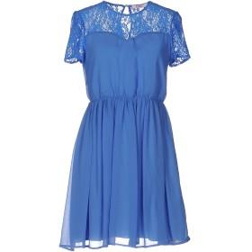 《期間限定セール開催中!》BLUGIRL FOLIES レディース ミニワンピース&ドレス ブルー 42 100% ポリエステル