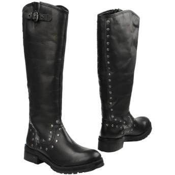 《セール開催中》GEI GEI レディース ブーツ ブラック 36 牛革(カーフ) 100%