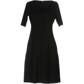 《セール開催中》ELIE TAHARI レディース ミニワンピース&ドレス ブラック 6 レーヨン 63% / ナイロン 32% / ポリウレタン 5% / 羊革(ラムスキン)