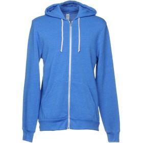 《期間限定 セール開催中》ALTERNATIVE メンズ スウェットシャツ ブルー L ポリエステル 50% / コットン 46% / レーヨン 4%