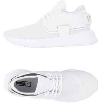 《セール開催中》PUMA メンズ スニーカー&テニスシューズ(ローカット) ホワイト 6.5 紡績繊維 TSUGI-MI MONOLITH