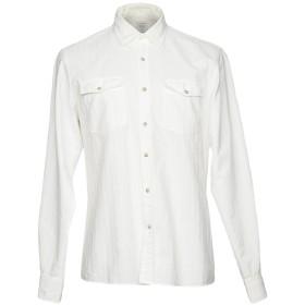 《期間限定セール開催中!》AUTHENTIC ORIGINAL VINTAGE STYLE メンズ シャツ ホワイト S コットン 100%