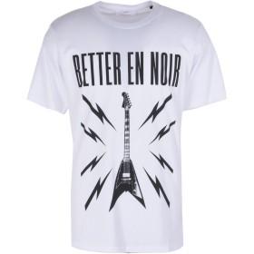 《期間限定セール開催中!》THE KOOPLES メンズ T シャツ ホワイト S コットン 100% T-SHIRT WITH SILK-SCREENED GUITAR
