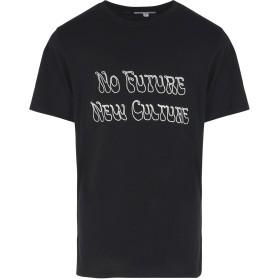《9/20まで! 限定セール開催中》SOULLAND メンズ T シャツ ブラック S コットン 100% BUNZ